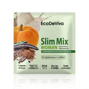 Baltyminis kokteilis Slim Mix MOTERIS 20 g.